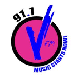 V FM logo